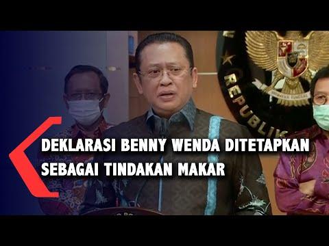 ketua mpr kecam deklarasi papua benny wenda makar