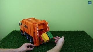 Bruder Müllwagen 02762 (Hecklader)