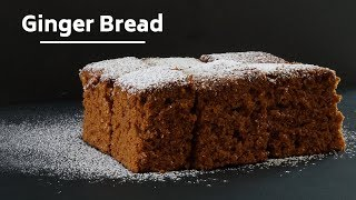 Gingerbread -Old Fashioned Gingerbread Recipe - Christmas Recipes