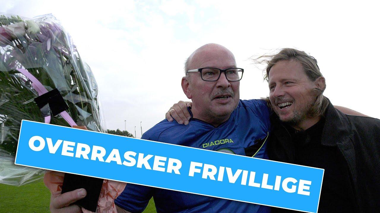 Frivillighedsuge: Bo Henriksen overrasker frivillige