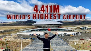 Fly to the World's HIGHEST Airport – Daocheng Yading