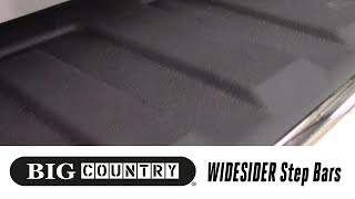 In the Garage™ with Total Truck Centers™: Big Country Truck Accessories WIDESIDER Step Bars