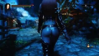 Skyrim: Dark Souls Edition - броня Black Rose