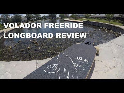 VOLADOR FREERIDE LONGBOARD REVIEW! Best Budget Longboard?!