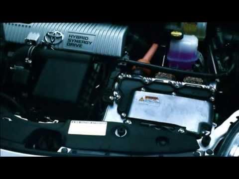 Así funciona el sistema híbrido del Prius