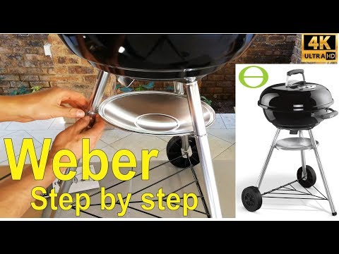 How to assemble a compact Weber kettle braai / barbecue - step by step