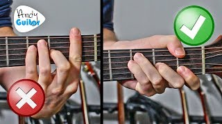 Easy Barre Chord CHEATS on Guitar