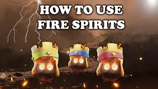Clash Royale   How to Use and Counter Fire Spirits