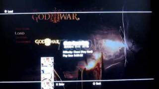 God of War 3 - Infinite Health Cheat - How To