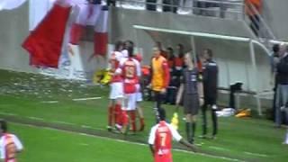 preview picture of video 'Stade de Reims-Boulogne 4-1 (15/04/2011) en batteux'