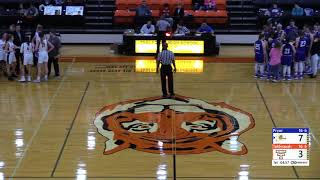 February 15, 2019 Tahlequah Lady Tigers vs. Pryor