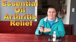 Essential Oil Arthritis Relief