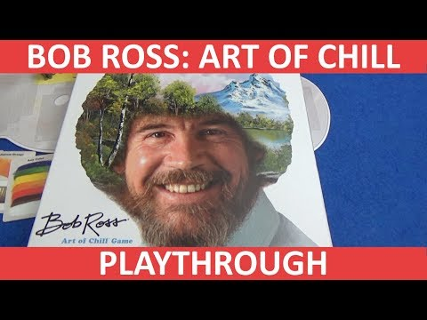 Bob Ross: Art of Chill - Playthrough