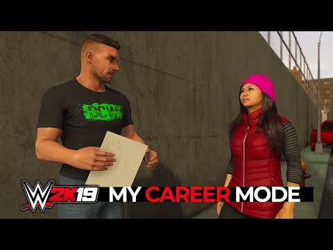 WWE 2K19 My Career Mode - Ep 1 - A NEW BEGINNING!!