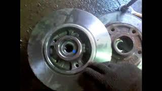 замена задних тормозных дисков рено флюинс +кат№