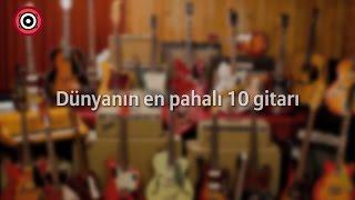 Dünyanın En Pahalı 10 Gitarı