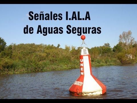 Boyas de Aguas Seguras, Sistema IALA colores y destellos Curso de C. Náutico y Timonel de Yate