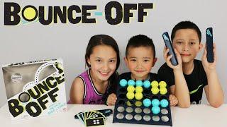 Mattel Bounce-Off Fun Kids Board Game Trick Shots Challenge Fun With Ckn Toys