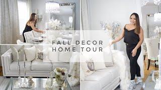 FALL GLAM  DECOR HOME TOUR || LIVING ROOM MAKEOVER 2019