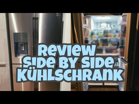 Review Side by Side Samsung Kühlschrank| Frenchdoor| Die Siwuchins