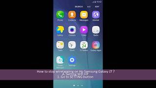 How To Stop Wiretapping On Hp Samsung Galaxy J7