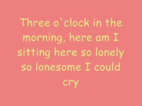 Blue - Lyrics