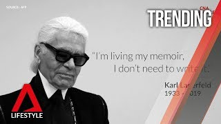 A tribute to Karl Lagerfeld | CNA Lifestyle