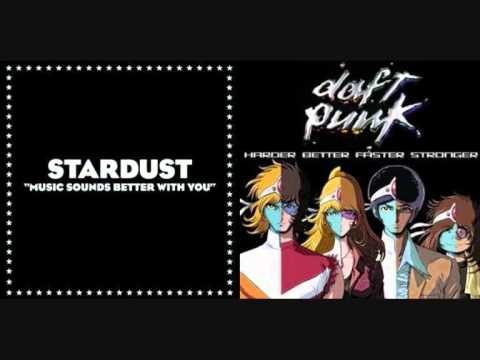 Daft Punk's 'Harder Better Faster Stronger'/'Music Sounds Better With You' (Mashup Remix)
