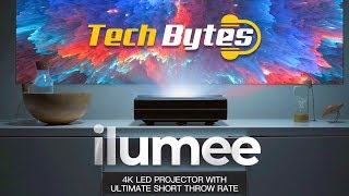 ilumee | Android 4K LED Projector | TechBytes