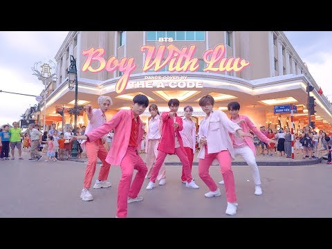 [KPOP IN PUBLIC] 작은 것들을 위한 시 (Boy With Luv) - BTS ft. Halsey Dance Cover | The A-code from Vietnam