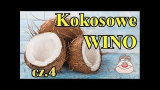 Przepis na wino kokosowe odcinek 4  zlewanie wina znad osadu
