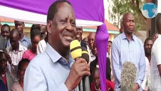 Raila Beware of 'dirty' money in churches