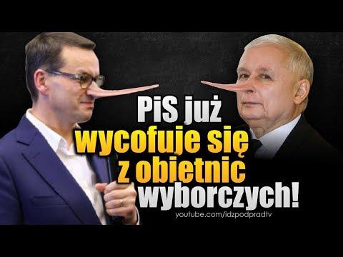 PiS już wycofuje się z obietnic wyborczych! IDŹ POD PRĄD NA ŻYWO 2019.10.15