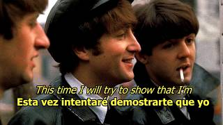 I'll Be Back - The Beatles (LYRICS/LETRA) [Original]