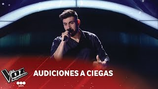 "Javier Lara - ""Unchained Melody"" - Righteous Brothers - Audiciones a ciegas - La Voz Argentina 2018"