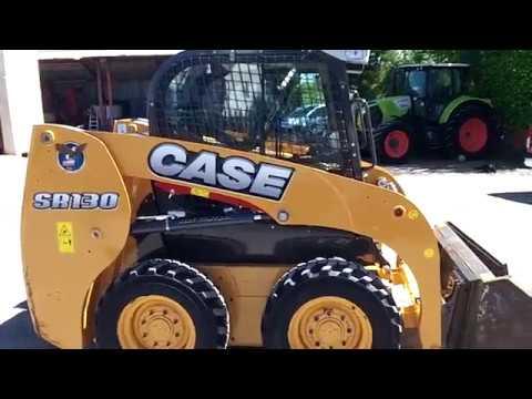 Case SR130 Skid Steer Loader
