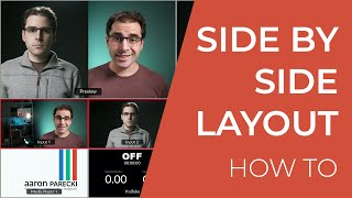 How to Make a Side by Side Layout with the ATEM Mini