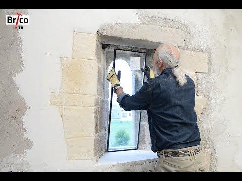 Poser un vitrage isolant fixe - Tuto bricolage de Robert pour la pose d'un vitrage fixe