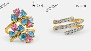 Latest Gemstone Rings With PRICE
