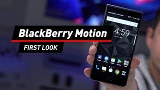 BlackBerry Motion: Das Design tanzt aus der Reihe