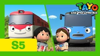 Tayo S5 EP5 l Tayo and Titipo's race l Tayo the Little Bus