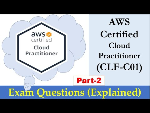 AWS Certified Cloud Practitioner - Real Exam Questions ... - YouTube