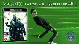 MATRIX : TEST du Blu-ray Ultra HD/4K (HDR Dolby Vision) !