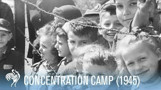 Liberation Of Holocaust Concentration Camp Belsen By The British (1945) | War Archives