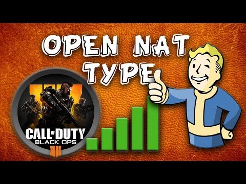 How To Fix NAT Type To Open in Black Ops 4 (PS4, XBOX One & PC