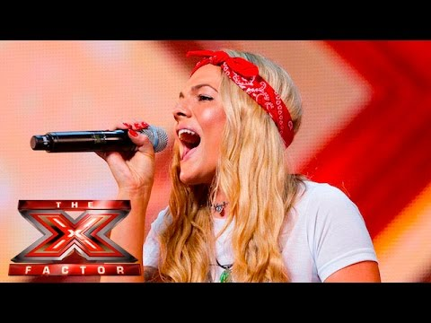 Soul singer Louisa Johnson covers Who's Loving You | Auditions Week 1 | The X Factor UK 2015 (видео)