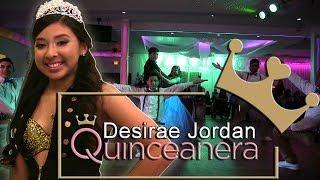 Desirae Jordan Quinceanera Surprise Dance | Baile Sorpresa | #rhythmwriterz