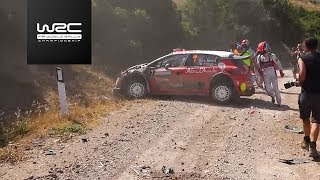 WRC - Rally Italia Sardegna 2017: Top 5 Highlights