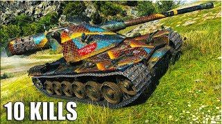 Kranvagn против СЕМЕРЫХ 🌟 World of Tanks лучший бой на шведском тт