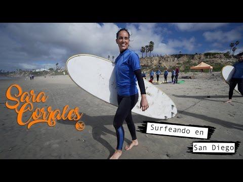 Sara Corrales en EC San Diego - Surf